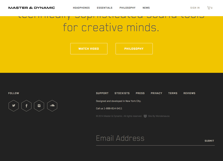 15 Tips For Creating A Great Website Footer Top Digital